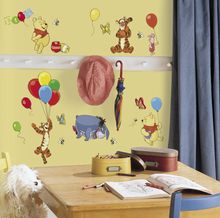 Gorgeous Disney Vinyl stickers that don't cost a fortune and can easily be changed. Adding enormous value to any baby or child's bedroom.