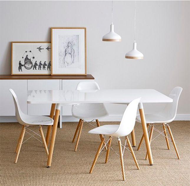 Mesa de estilo nórdico. #Mesas imprescindibles: el centro de la conversación. Acoge, renueva y amplia. Una propuesta para inspirar tu sobremesa