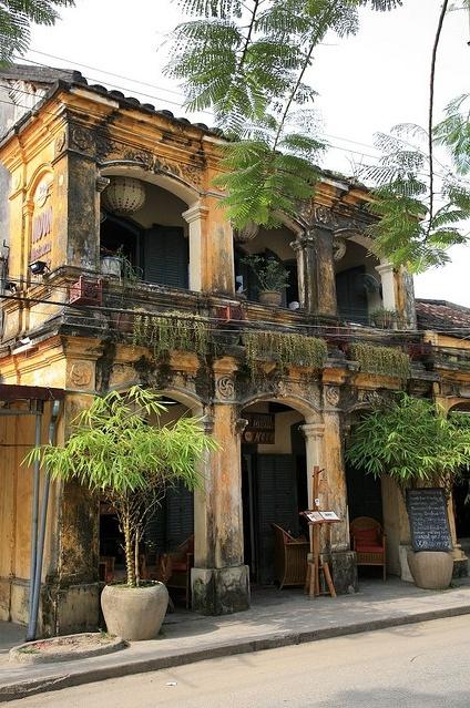 L'ancienne maison à Hoi An (Photo prise par Roger OZ). En savoir plus : https://www.amica-travel.com/vietnam-sites-a-decouvrir/centre-vietnam/hoi-an