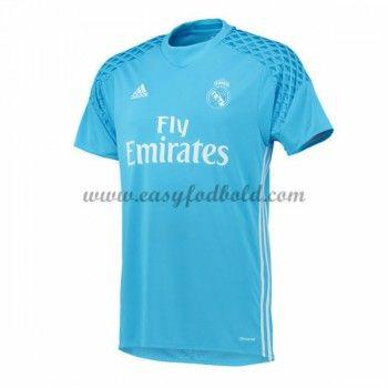 Fodboldtrøjer La Liga Real Madrid 2016-17 Målmand Hjemmetrøje