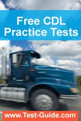 Cdl test answers - driver license test questions and answers - hazmat endorsement - cdl practice test - study guide for cdl test - class a class b permit test