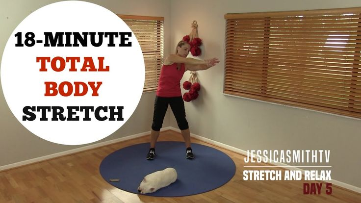 18 Minute Full Body Stretching Flexibility Routine - No Equipment for Al...