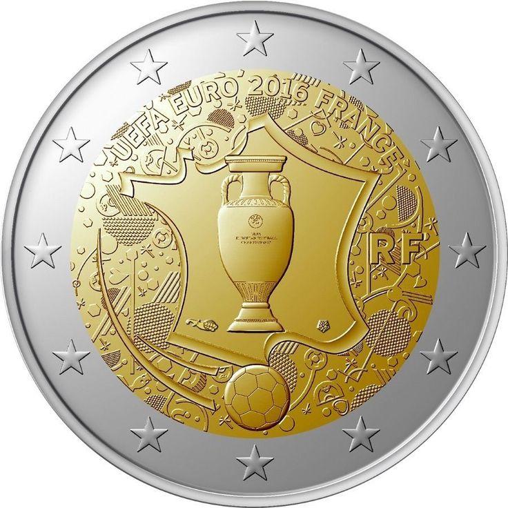 """2 Euros Francia 2016 """"Eurocopa&#034"""