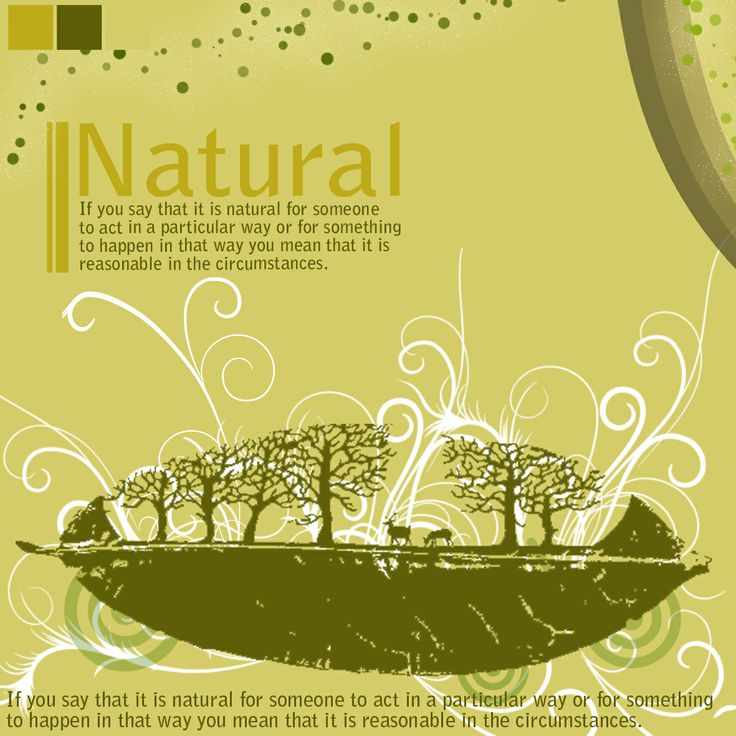 natural graphic