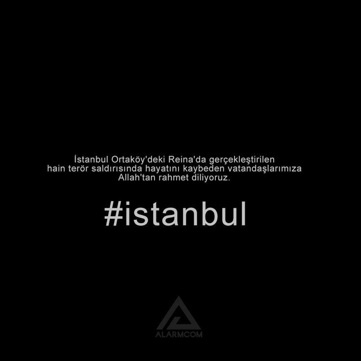 İstanbul Ortaköy'deki Reina'da gerçekleştirilen hain terör saldırısında hayatını kaybeden vatandaşlarımıza Allah'tan rahmet diliyoruz. #İstanbul #milletimizinbaşısağolsun #terörelanetolsun