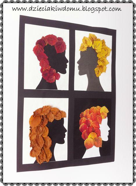 Jesienne stylizacje - praca plastyczna dla dzieci