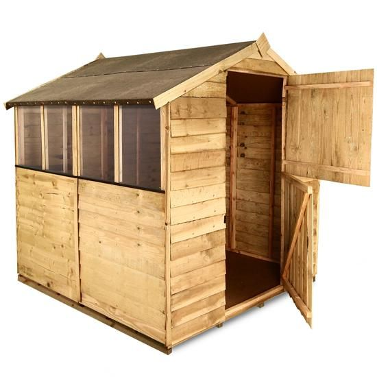 The BillyOh 200 Range - Cheap Wooden Sheds - Garden Buildings Direct