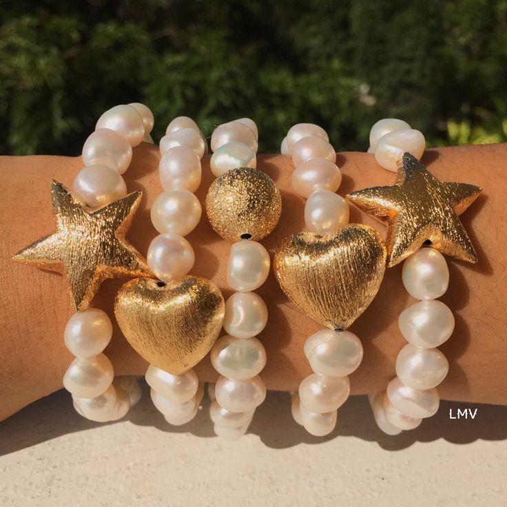 Pulseras de perlas By Luz Marina Valero