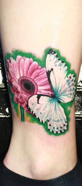 Pink Daisy Tattoo: 69 Best Images About Tattoo Ideas On Pinterest