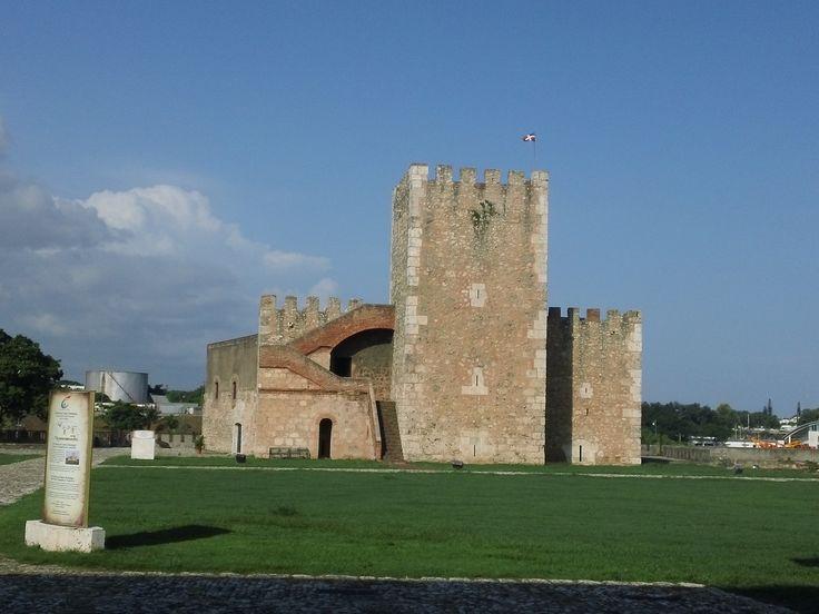 Fortaleza Ozama en la Zona Colonial.