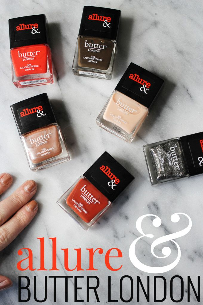 Allure & Butter London Arm Candy Collection - perfect colors for fall