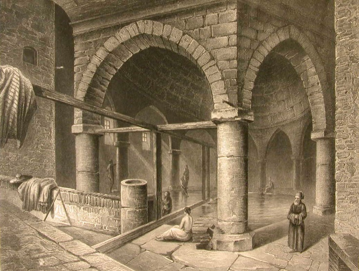 Rudas (Jesil direkli ilidzseszi) fürdő,  1566. Rudas Bath - Budapest - Hungary