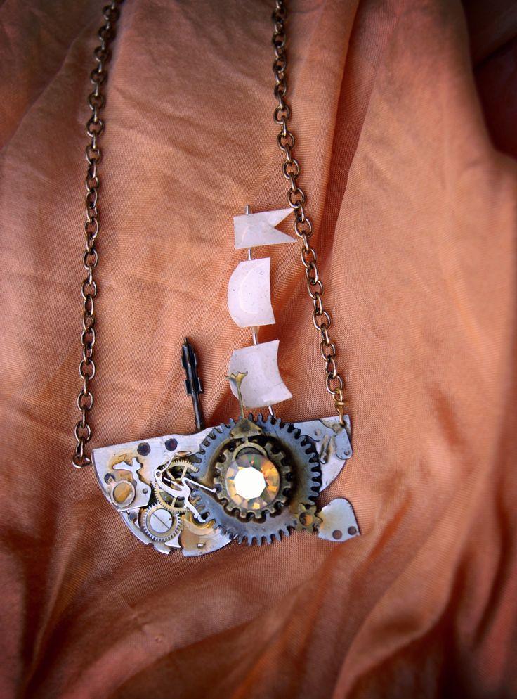 by Petra Slováková   #victorian #steampunk #steamgirls #českysteampunk #corset #historical #19th #aristocrat #photo #gothic #lady #madame #alternative #fashion #gun #costume #dark #emotive #jewels #jewelry #bracelet #cosplay #handmade