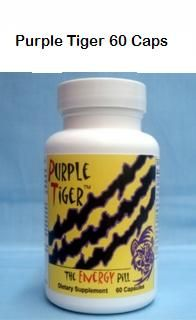 Purple Tiger Diet Pill  60 Capsules - Free Shipping, Also Save 10% On Each Bottle At Check Out.  - Purple Tiger Diet Pill  is a proprietary blend of herbs, vitamins, minerals, amino acids, antioxidants and other co factors that may increase energy, weight loss, and give you that overall sense of well being. In addition to their nutritional value,   - VISIT OUR WEBSITE -  http://www.hmherbs.com/putidipi.html