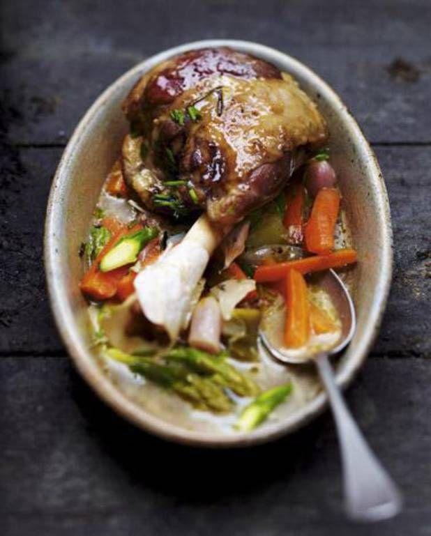 Navarin de souris d'agneau, légumes de printemps pour 6 personnes - Recettes Elle à Table