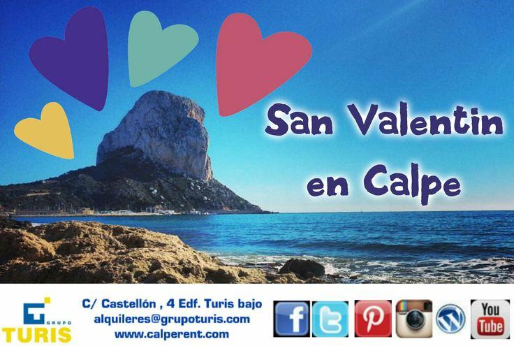 Disfruta de un San Valentín inolvidable en #Calpe #CostaBlanca
