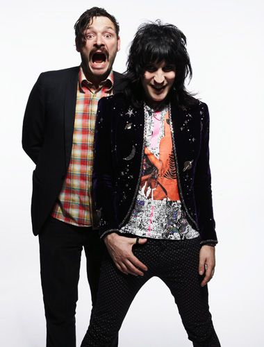 the mighty boosh - noel fielding and julian barratt