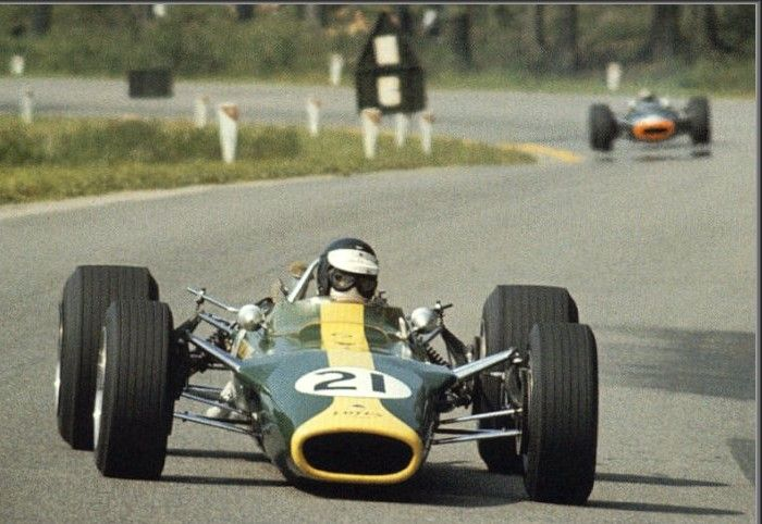 Jim Clark Lotus-Ford 49 1967 Belgian GP Spa -Francorchamps