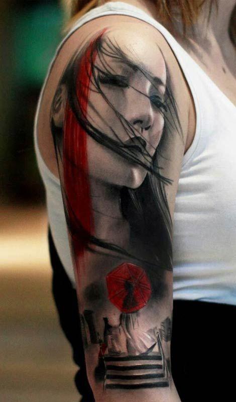 sleeve tattoos, arm tattoos, inked men, inked girls, tattoo inspiration, tattoo ideas.  Wow!!!