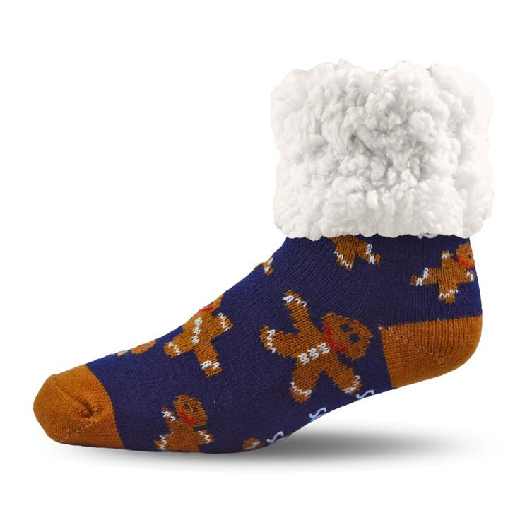 #shoppingfashionPudus Gingerbread Socks with a Warm, Soft and Fluffy Lining.  #gingerbread #wintersocks #linedsocks #furlined #antislipsocks #fashion #style #shopping #giftforher