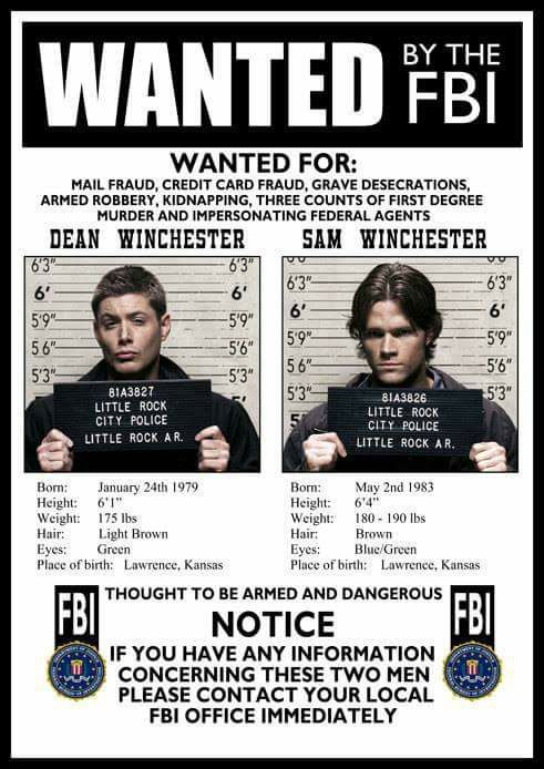 Wanted! By the FBI