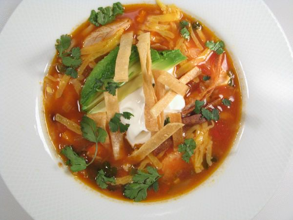 best healthy chicken tortilla soup recipe