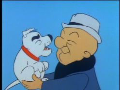 Mr. Magoo was created in 1949 and was originally shown as animated shorts in the movie theatre. In 1960, The Mr. Magoo show debuted on television. The main character was a very near-sighted man who would not admit that he couldn't see well. This resulted in many amusing stories. He also had a dog named McBarker. Magoo was voiced by Jim Backus.
