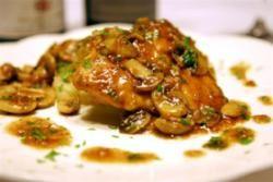 Pollo al Marsala - Kip in Marsalawijn
