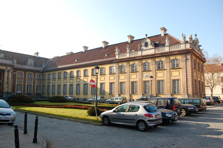 The Branicki Palace (Polish: Pałac Branickich) is an 18th-century magnate's mansion in Warsaw, Poland. It is located at the junction of Podwale and Miodowa Streets.
