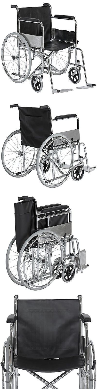 Wheelchairs: Best Choice Products 24 Lightweight Folding Wheelchair Swing-Away Footrest -> BUY IT NOW ONLY: $98.96 on eBay!