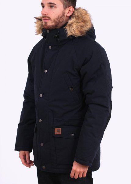Carhartt Trapper Parka - Navy Blue / Black - Carhartt from Triads UK