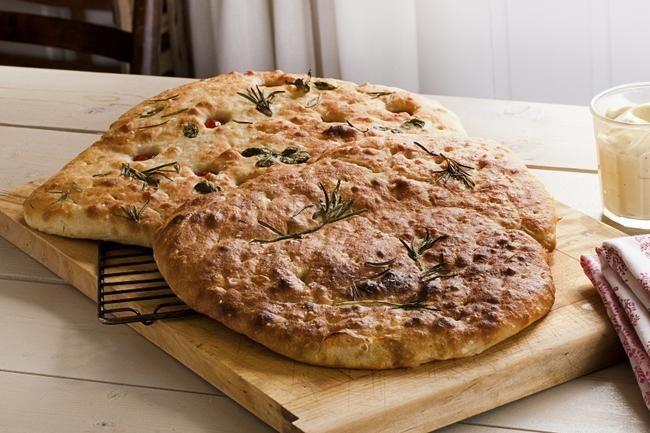 Focaccia, brødet alle elsker blir garantert en slager på 17. mai.