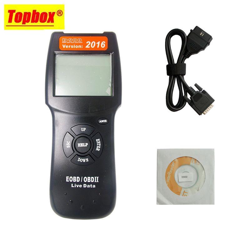 2016 Version D900 EOBD OBDII Scanner Car Engine Code Reader D900 Diagnostic Tool For Multi Brand Cars //Price: $42.23      #sale