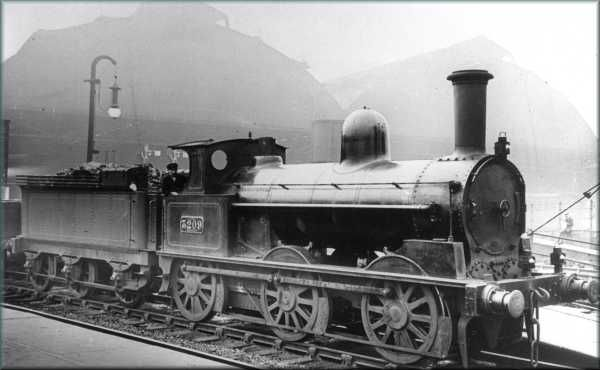 LNWR 17in Coal Engine, Webb at Crewe