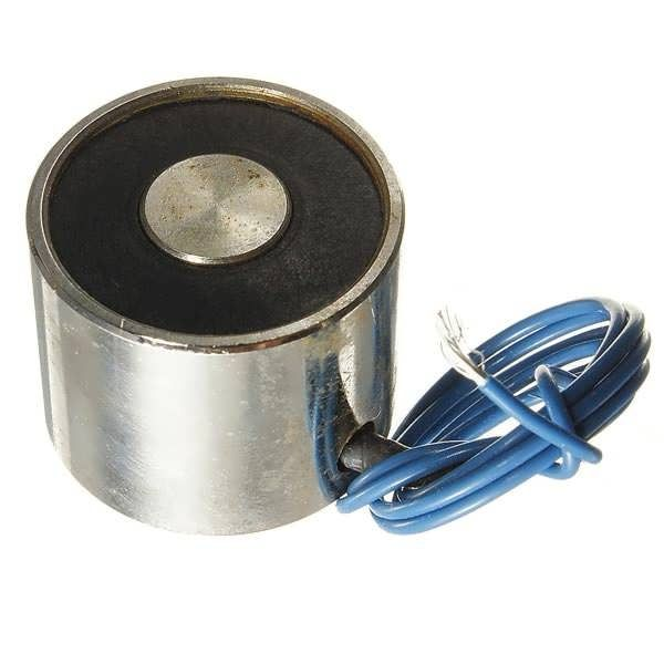 DC12V 4W Electric Magnet Solenoid Lift 11LB (5kg) Lifting Force  Worldwide delivery. Original best quality product for 70% of it's real price. Buying this product is extra profitable, because we have good production source. 1 day products dispatch from warehouse. Fast & reliable...