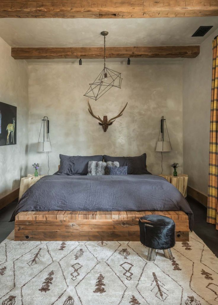 A rustic chic family hideaway in Big Sky: Freedom Lodge Interiors by Rain and Skye
