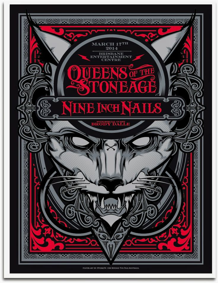 Nine Inch Nails + Queens of the Stone Age - Hydro74 - 2014 ----