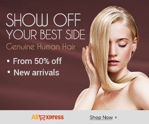 #Show off Your Best Side  Human Hair - From 50% off,New arrivals