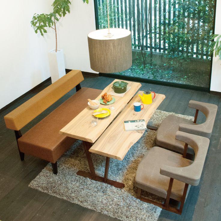 リビングダイニング兼用・LDmix | 大阪のオーダー家具・インテリアショップ | 飛行船スタイル