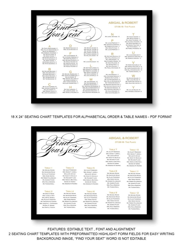 The 25+ best Wedding seating board ideas on Pinterest Table - seating chart templates