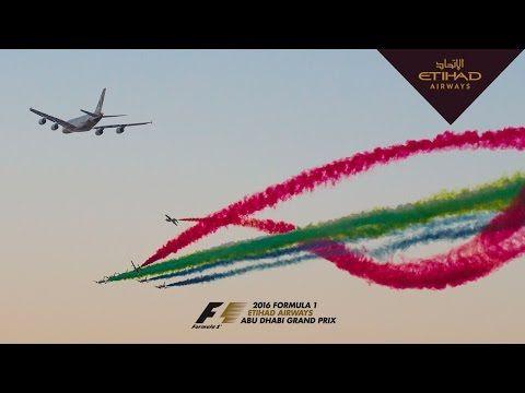 Video Etihad Airways: Formel-1-Rennen in Abu Dhabi - Ein Airbus A380 mit bunter Begleitung | traveLink.