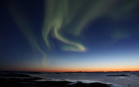 Nordlys i Bodø  - Roger Johansen / Nordnorsk Reiseliv