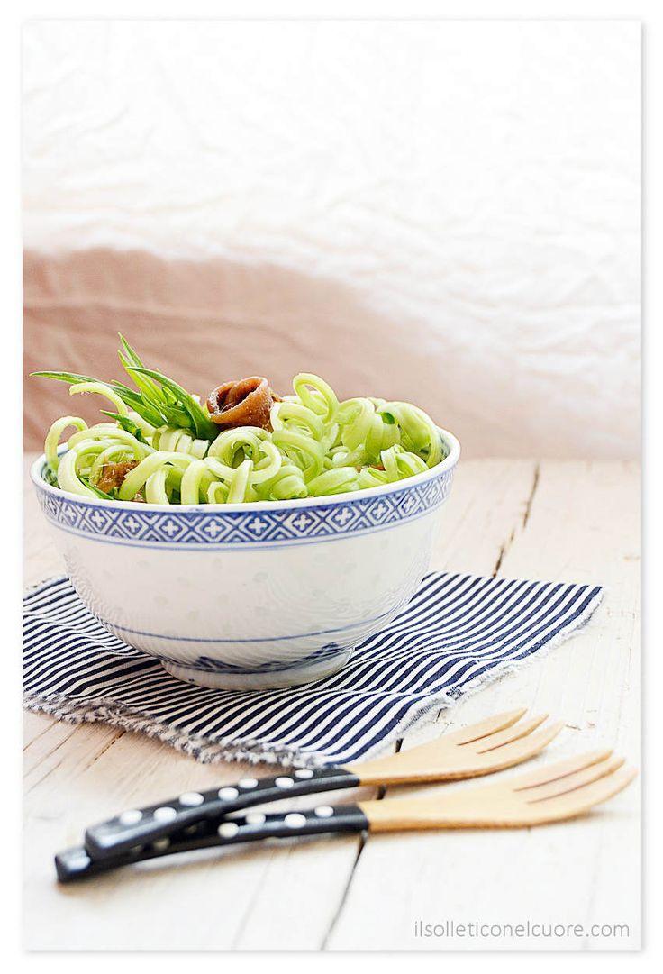 #roman #chicory #salad - #puntarelle salad #italianfood