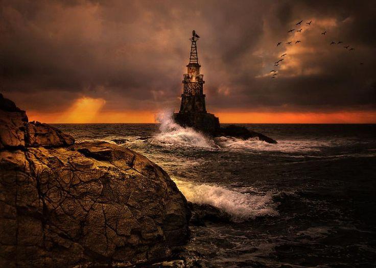 Gyönyörű világítótorony a legdélibb bolgár tengerparti városban: Ahtopolban