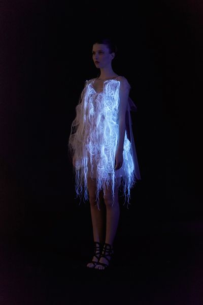 Interactive dresses by MTL based designer Ying Gao