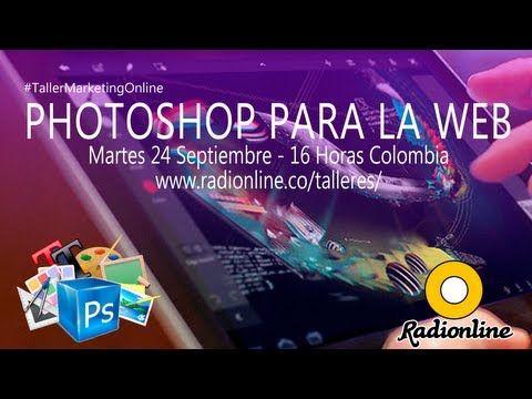 Photoshop para la Web - #TallerMarketingOnline
