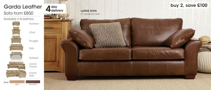 Leather Sofas & Chairs - Page 2
