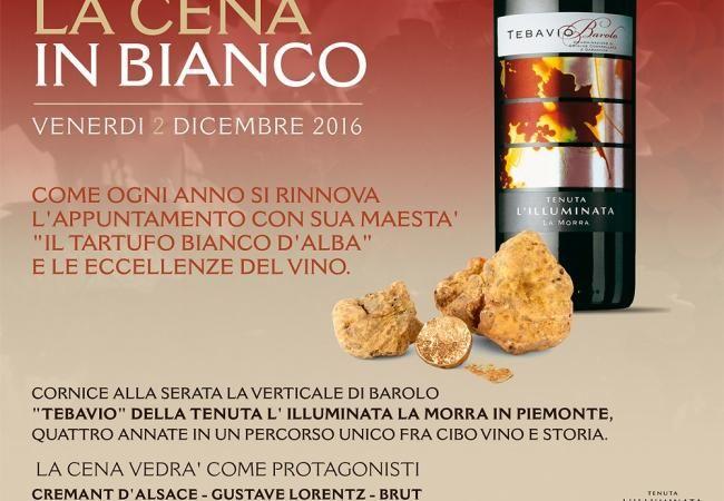 LA CENA IN BIANCO 2 Dicembre - News ed Eventi / Le Lampare al Fortino, ristorante Trani, ristoranti a Trani in Puglia, sale ricevimenti a Trani in Puglia