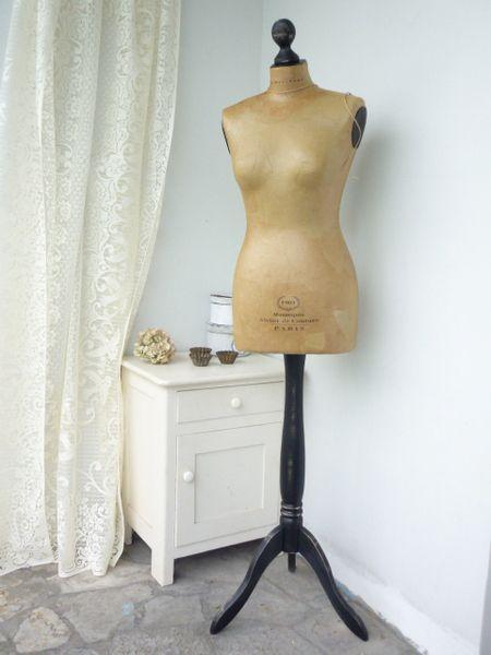 Deko-Objekte - Shabby Schneiderpuppe Vintage MANNEQUIN - ein Designerstück von StilVerliebt bei DaWanda