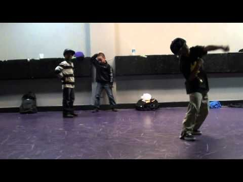 "The Art of Teknique (TAT) Krumpin Freestyle to ""Step On Stage"" - YouTube"